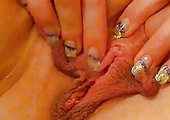 Tiener pussy close-up - hot young sex